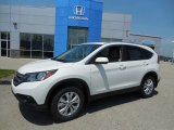 2013 White Diamond Pearl Honda CR-V EX-L AWD #81171228