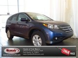 2013 Twilight Blue Metallic Honda CR-V EX AWD #81170666