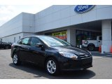 2013 Tuxedo Black Ford Focus SE Sedan #81170863
