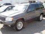 2002 Graphite Metallic Jeep Grand Cherokee Limited 4x4 #81171336