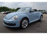 2013 Denim Blue Volkswagen Beetle 2.5L Convertible #81171096