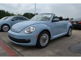 2013 Denim Blue Volkswagen Beetle 2.5L Convertible #81171089
