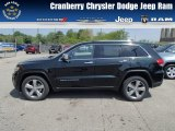 2014 Brilliant Black Crystal Pearl Jeep Grand Cherokee Limited 4x4 #81170840
