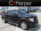 2010 Tuxedo Black Ford F150 FX4 SuperCab 4x4 #81170648
