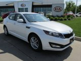 2013 Snow White Pearl Kia Optima LX #81171195