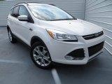2013 White Platinum Metallic Tri-Coat Ford Escape SE 1.6L EcoBoost #81170961