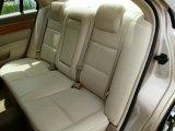 2008 Lincoln MKZ AWD Sedan Rear Seat