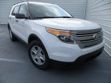 2013 Oxford White Ford Explorer FWD #81170956