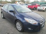 2012 Kona Blue Metallic Ford Focus SE Sedan #81170728