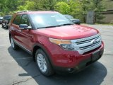 2013 Ruby Red Metallic Ford Explorer XLT 4WD #81225726