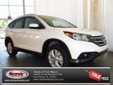 2013 White Diamond Pearl Honda CR-V EX-L #81225600