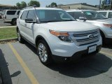 2013 Oxford White Ford Explorer XLT #81225679