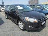 2012 Black Ford Focus SEL Sedan #81225677