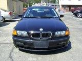 1999 Jet Black BMW 3 Series 323i Sedan #8117969
