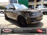 Nara Bronze Metallic Land Rover Range Rover in 2013