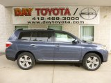 2013 Shoreline Blue Pearl Toyota Highlander Limited 4WD #81225661