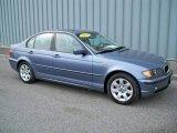 2004 Steel Blue Metallic BMW 3 Series 325i Sedan #8111874