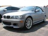 2006 Silver Grey Metallic BMW 3 Series 330i Convertible #8119868