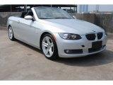 2008 Titanium Silver Metallic BMW 3 Series 335i Convertible #81225869