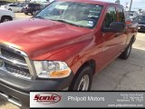2009 Sunburst Orange Pearl Dodge Ram 1500 ST Quad Cab #81225750