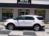 2013 Oxford White Ford Explorer XLT #81225781