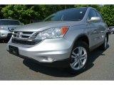 2011 Alabaster Silver Metallic Honda CR-V EX-L 4WD #81225820