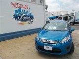 2013 Blue Candy Ford Fiesta SE Sedan #81245956
