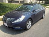 2013 Indigo Night Blue Hyundai Sonata Limited #81245953