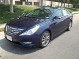 2013 Indigo Night Blue Hyundai Sonata Limited 2.0T #81245950