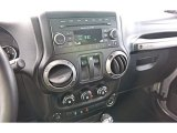 2012 Jeep Wrangler Sport S 4x4 Controls