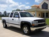 2000 Summit White Chevrolet Silverado 1500 LS Extended Cab 4x4 #8118531