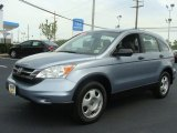 2010 Glacier Blue Metallic Honda CR-V LX AWD #81253472