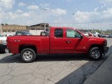 2013 Victory Red Chevrolet Silverado 1500 LT Extended Cab 4x4 #81252994