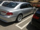 2003 Titanium Silver Metallic BMW 7 Series 745Li Sedan #81252927