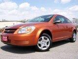 2007 Sunburst Orange Metallic Chevrolet Cobalt LS Coupe #8106924