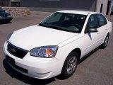 2007 White Chevrolet Malibu LS Sedan #8108945