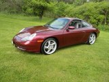 1999 Arena Red Metallic Porsche 911 Carrera 4 Coupe #81253310