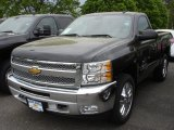 2013 Black Chevrolet Silverado 1500 LT Regular Cab 4x4 #81252909