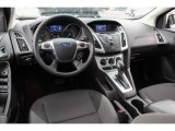 2012 Ford Focus SE Sedan Charcoal Black Interior