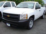 2013 Summit White Chevrolet Silverado 1500 Work Truck Regular Cab #81252904