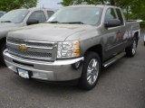 2013 Graystone Metallic Chevrolet Silverado 1500 LT Extended Cab #81252899