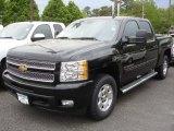 2013 Black Chevrolet Silverado 1500 LTZ Crew Cab 4x4 #81252890