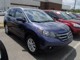 2012 Twilight Blue Metallic Honda CR-V EX-L 4WD #81253438
