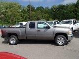 2013 Graystone Metallic Chevrolet Silverado 1500 LT Extended Cab 4x4 #81253058