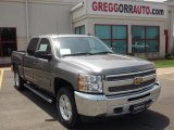 2013 Graystone Metallic Chevrolet Silverado 1500 LT Crew Cab 4x4 #81253273