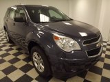 2013 Atlantis Blue Metallic Chevrolet Equinox LS #81253268