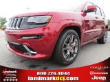 2014 Deep Cherry Red Crystal Pearl Jeep Grand Cherokee SRT 4x4 #81253034