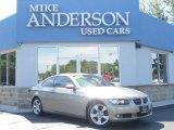 2008 Platinum Bronze Metallic BMW 3 Series 328xi Coupe #81288583