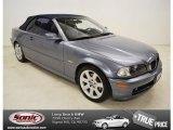 2002 Steel Grey Metallic BMW 3 Series 325i Convertible #81288128