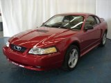 2000 Laser Red Metallic Ford Mustang GT Coupe #8121023